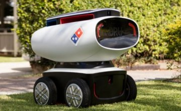 ROBOT DELIVERY από την Dominos pizza!