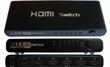 HDMI SWITCH 501 1080P