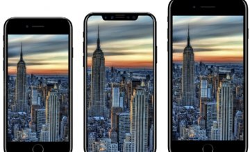 iPhone 8: Σύγκριση μεγέθους με iPhone 7 και Galaxy S8