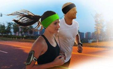 Sport Headband από τη Cellular Line  με ενσωματωμένα στερεοφωνικά  ακουστικά!