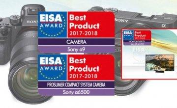 H Sony γιορτάζει το ρεκόρ για την κατάκτηση της κορυφής σε επτά κατηγορίες των Βραβείων EISA 2017