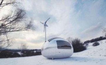 Ecocapsule: Ένα φορητό, αυτοσυντηρούμενο σπίτι!