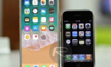 Το iPhone 8/X συγκρίνεται με όλα τα προηγούμενα iPhones