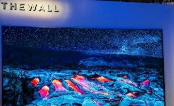 Η Samsung παρουσίασε μια τηλεόραση 146 ιντσών με τη νέα MicroLED τεχνολογία