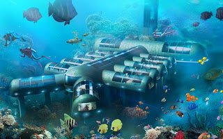 Το φουτουριστικό ξενοδοχείο στον βυθό του ωκεανού