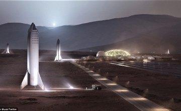 Η διαστημική βάση του Ελον Μασκ στον Άρη