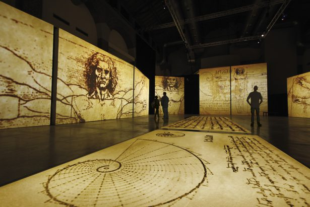 Leonardo Da Vinci – 500 Years of Genius: Μεγάλη έκθεση στο Παλιό Αμαξοστάσιο ΟΣΥ