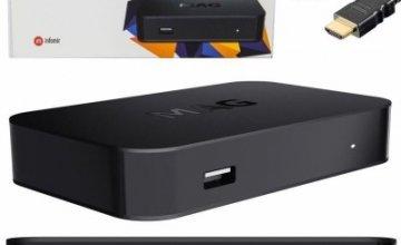 IPTV SET-TOP BOX MAG 322/323  Μια εξυπνη συσκευη
