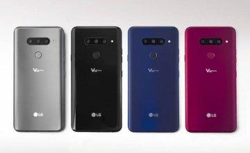 Το νέο smartphone LG V40 ThinQ διαθέτει πέντε κάμερες