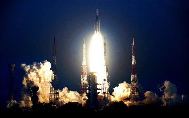 Τον βαρύτερο δορυφόρο της εκτόξευσε η Ινδία