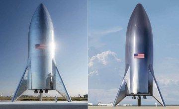 Η Space X παρουσίασε τις πρώτες εικόνες του πυραύλου που ετοιμάζει για τη Σελήνη και τον Άρη