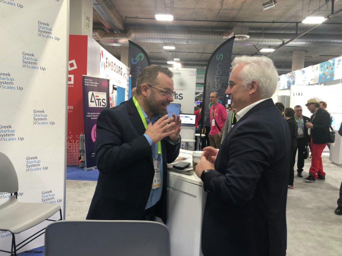 Για πρώτη φορά η Ελλάδα παρούσα στη μεγαλύτερη έκθεση τεχνολογίας του κόσμου CES (Consumer Electronics Show) 2019