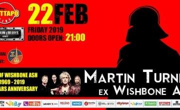 ΦΕΒ 22 Martin Turner ex Wishbone Ash Live – Best Of Classic Years