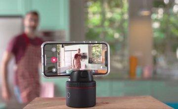 Pivo: Smartphone pod με 360° auto-tracking