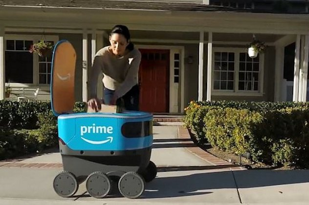 Νέο ρομπότ της Amazon: Θα κάνει delivery τα δέματα στο σπίτι σας