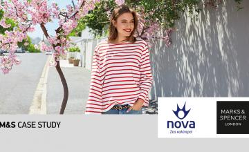 Συνεργασία Nova και Marks & Spencer