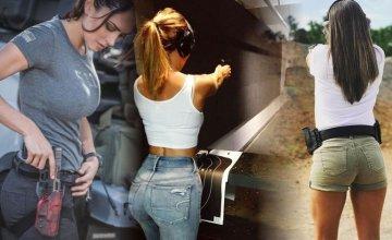 """Γυναίκες και όπλα – Ένα αφιέρωμα με """"συγκλονιστικά"""" καρέ που κόβουν την ανάσα"""