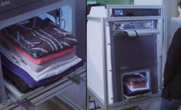 Ήρθε η συσκευή που διπλώνει και σιδερώνει τα ρούχα μετά το πλυντήριο