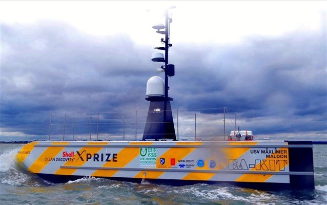 Προετοιμασίες για το πρώτο υπερατλαντικό ταξίδι μη επανδρωμένου πλοίου