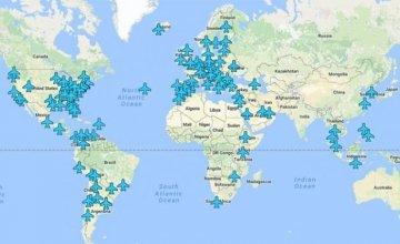 Όλοι οι κωδικοί Wi-Fi από όλα τα αεροδρόμια του κόσμου σε έναν χρήσιμο χάρτη.