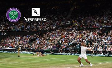 Διπλή καλοκαιρινή απόλαυση με τη Nespresso και το κορυφαίο Grand Slam του τένις, το Wimbledon, στο Novasports.gr!