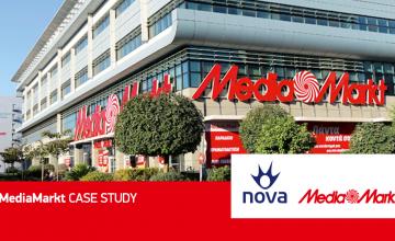 Συνεργασία Nova και MediaMarkt: Δημιουργία νέου περιβάλλοντος Private Cloud