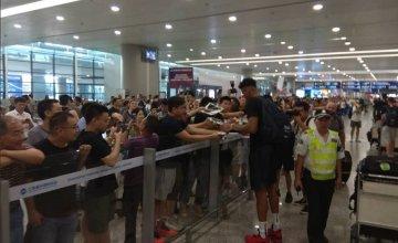 Μουντομπάσκετ: Η Εθνική έφτασε στην Κίνα. «Λατρεία» για Αντετοκούνμπο