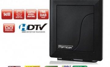 Ψηφιακή Κεραία Τηλεόρασης Εσωτερικού Χώρου Opticum Smart HD 550 DVB-T