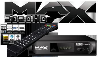 Νέος ψηφιακός επίγειος αποκωδικοποιητής MAX T2 H.265