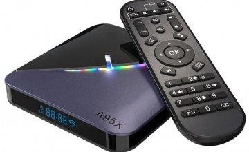 Νέο Android Tv Box A95X F3 Amlogic S905X3