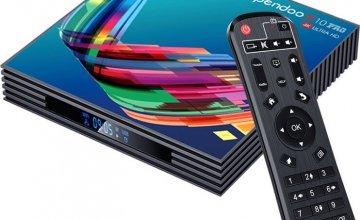 Νέο Android Tv Box Pendoo X10 Pro
