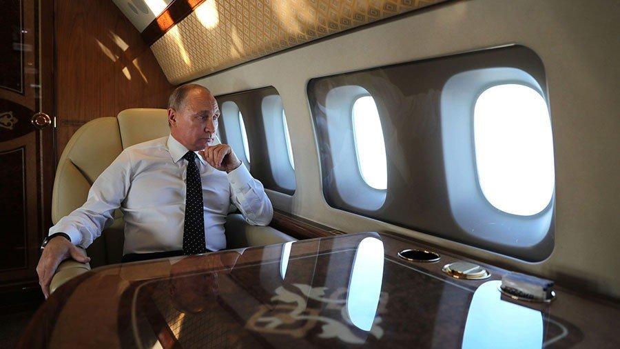 Το αεροσκάφος του Πούτιν δεν μοιάζει με ό,τι έχεις δει
