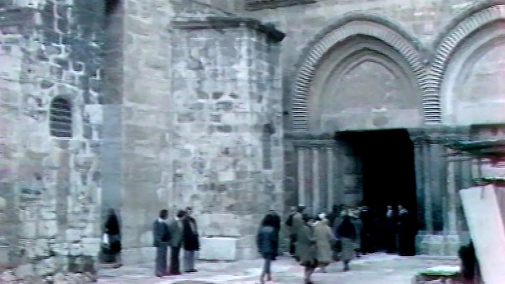Αφιέρωμα του Αρχείου της ΕΡΤ: «Οδοιπορικό στους Αγίους Τόπους»