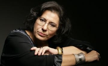 Η Μαρία Φαραντούρη στο site του Μεγάρου