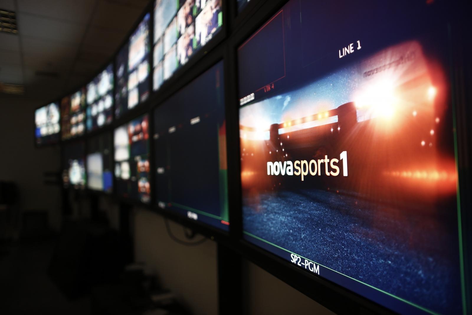 Nova: Ανταγωνιστική η τηλεοπτική αγορά, αλλά το ποδοσφαιρικό προϊόν αποκλειστική ευθύνη των ΠΑΕ