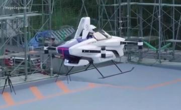 Ιαπωνία: Πέταξε το πρώτο επανδρωμένο ιπτάμενο αυτοκίνητο!