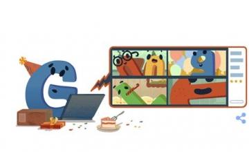 Google : Έγινε 22 χρονών και το γιορτάζει με ένα doodle