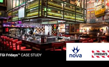 Nova & TGI FridaysTM: Μία 10ετής συνεργασία που προσφέρει κορυφαία γεύση και θέαμα σε μια μοναδική εμπειρία ψυχαγωγίας!