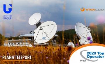 Η VIVACOM, μέλος της United Group, μεταξύ των ταχύτερα αναπτυσσόμενων παρόχων δορυφορικών υπηρεσιών για επιχειρήσεις σε όλο τον κόσμο