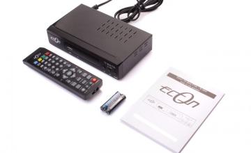 Νέος Επίγειος Ψηφιακός Αποκωδικοποιητής Econ T2-Box FTA E-264