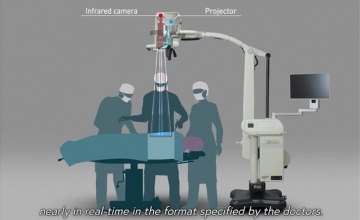Panasonic: Σύστημα που προβάλλει εικόνες σε ασθενείς κατά την εγχείρηση
