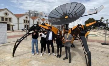 Εκτοξεύεται από τη Λάρνακα ο «ASTRO 1», το μεγαλύτερο εκπαιδευτικό ρομπότ στον κόσμο
