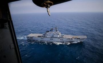 Ιταλία: Σκέψεις για μετατροπή αεροπλανοφόρου σε πλωτή βάση εκτόξευσης πυραύλων στο Διάστημα