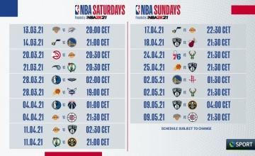 Οι NBA prime time αγώνες στην Cosmote TV