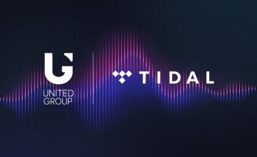 Η United Group υπογράφει αποκλειστική συμφωνία για να προσφέρει στους χρήστες της σε όλη τη Νοτιοανατολική Ευρώπη πρόσβαση στην υπηρεσία streaming μουσικής TIDAL