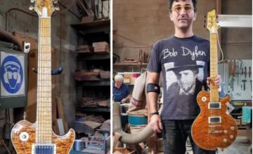 Μade in Greece o Γιάννης Γιάντσιος & οι «Κιθάρες του Ολύμπου» – Bon Jovi, Iron Maiden, Led Zeppelin πελάτες του