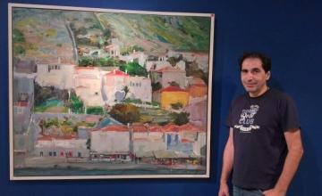 Παναγιώτης Τούντας: Επιστρέφω στην Ύδρα, να ξαναδώ με νέα ματιά το φως και τη χρωματική ποικιλία του νησιού