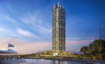 Lamda Development: Παρουσίασε τον ουρανοξύστη Marina Tower