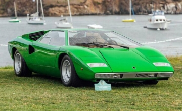 Μια πράσινη Countach είναι η παλαιότερη όλων