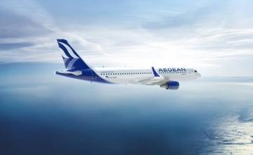 Aegean Airlines: Μετέφερε περισσότερους από 2,3 εκατ. επιβάτες τον Ιούλιο και τον Αύγουστο